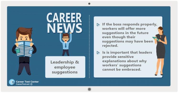 Leadership & employee suggestions