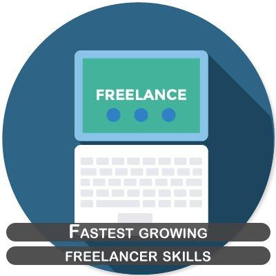 Fastest growing freelancer skills