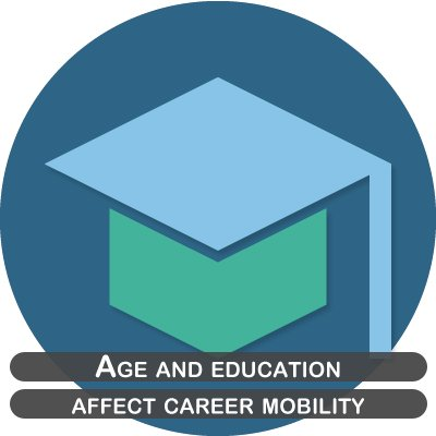 Age and education affect career mobility