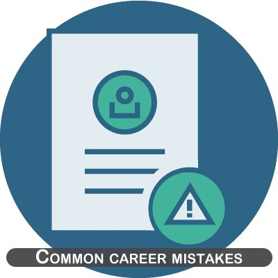 Common career mistakes